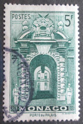 Poštovní známka Monako 1943 Vchod do zámku Mi# 240
