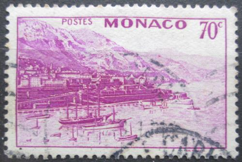 Poštovní známka Monako 1943 Pøístav a Monte Carlo Mi# 227