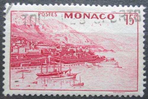 Poštovní známka Monako 1943 Pøístav a Monte Carlo Mi# 243