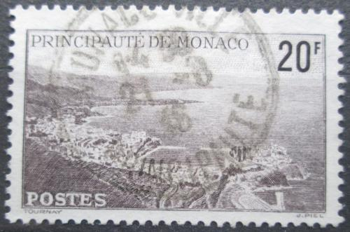 Poštovní známka Monako 1943 Pøístavištì Mi# 244