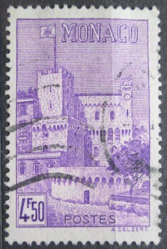 Poštovní známka Monako 1943 Zámek Mi# 239