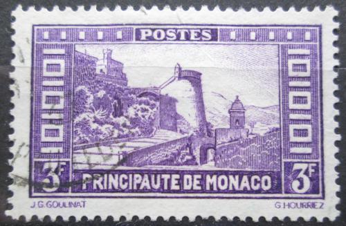 Poštovní známka Monako 1933 Rampe Major Mi# 132 Kat 7€