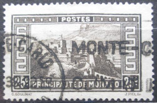 Poštovní známka Monako 1933 Knížecí palác Mi# 122