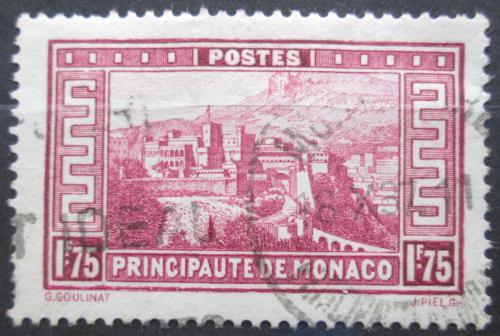 Poštovní známka Monako 1933 Knížecí palác Mi# 129 Kat 11€