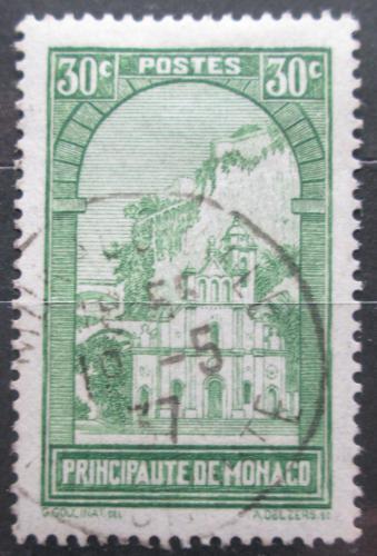 Poštovní známka Monako 1933 Kostel Sainte-Dévote Mi# 123