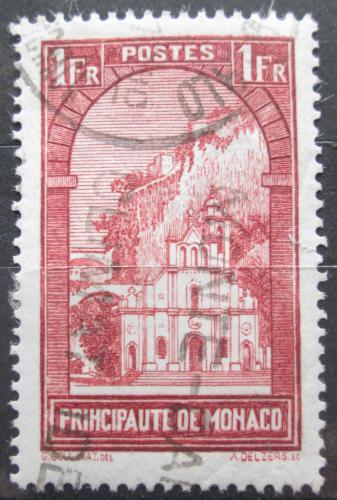 Poštovní známka Monako 1933 Kostel Sainte-Dévote Mi# 127 Kat 9€