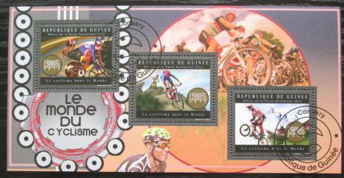 Poštovní známky Guinea 2012 Cyklistika Mi# 9507-09 Bogen Kat 18€