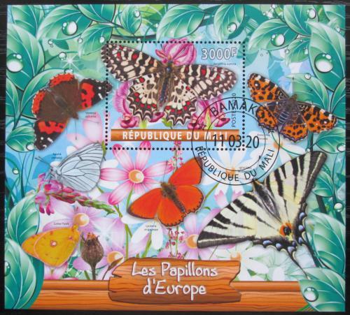 Poštovní známka Mali 2020 Evropští motýli Mi# N/N