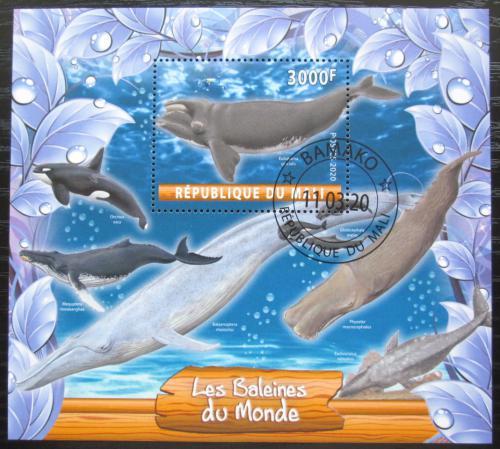 Poštovní známka Mali 2020 Velryby Mi# N/N