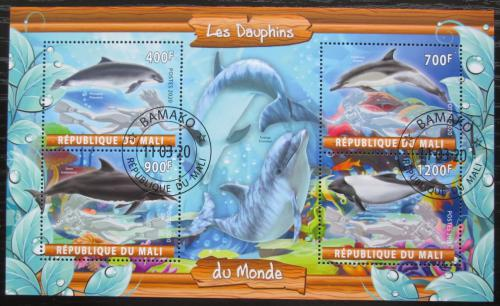 Poštovní známky Mali 2020 Delfíni Mi# N/N
