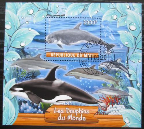 Poštovní známka Mali 2020 Delfíni Mi# N/N