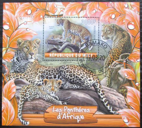 Poštovní známka Mali 2020 Jaguáøi Mi# N/N