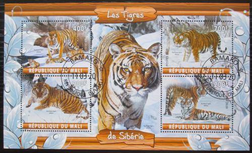 Poštovní známky Mali 2020 Tygøi Mi# N/N