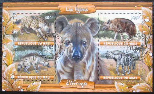 Poštovní známky Mali 2020 Hyeny Mi# N/N
