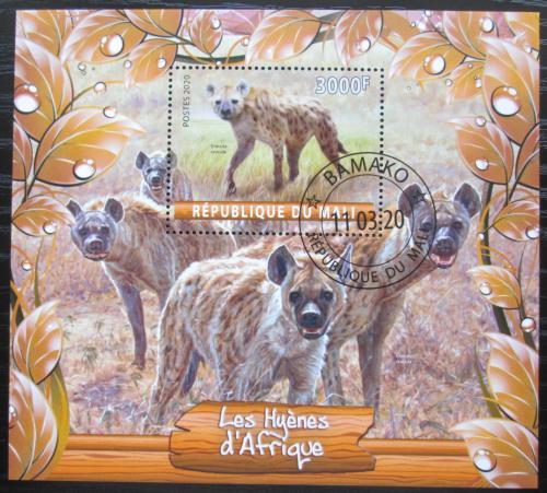 Poštovní známka Mali 2020 Hyeny Mi# N/N