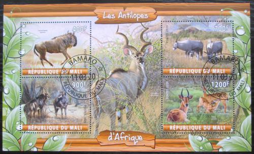 Poštovní známky Mali 2020 Antilopy Mi# N/N