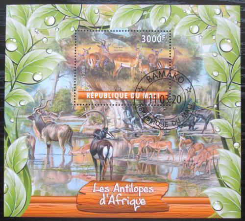 Poštovní známka Mali 2020 Antilopy Mi# N/N
