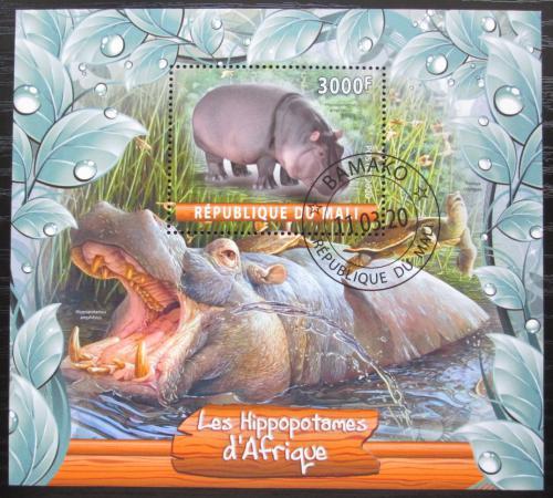 Poštovní známka Mali 2020 Hroši Mi# N/N