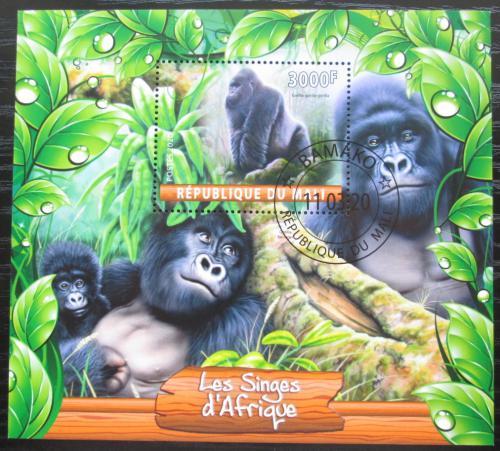 Poštovní známka Mali 2020 Opice Mi# N/N