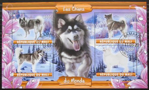 Poštovní známky Mali 2020 Psi Mi# N/N