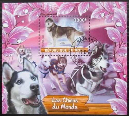 Poštovní známka Mali 2020 Psi Mi# N/N