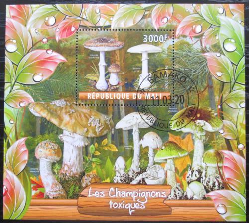 Poštovní známka Mali 2020 Houby Mi# N/N