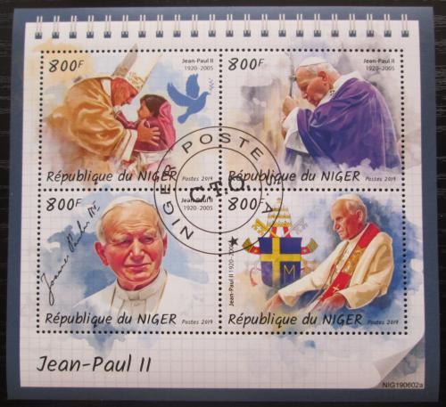 Poštovní známky Niger 2019 Papež Jan Pavel II. Mi# N/N