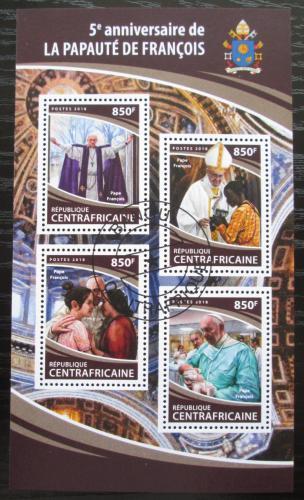 Poštovní známky SAR 2018 Papež František Mi# 7680-83 Kat 15€