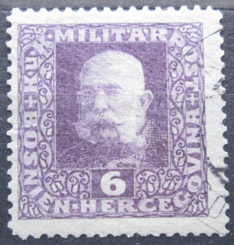 Poštovní známka Bosna a Hercegovina 1916 Císaø František Josef I. Mi# 101 A
