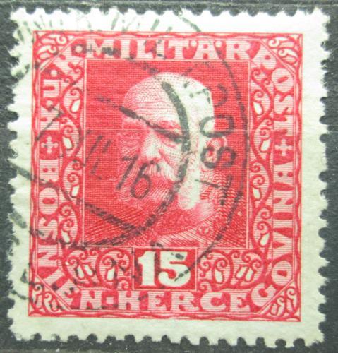 Poštovní známka Bosna a Hercegovina 1916 Císaø František Josef I. Mi# 104 A