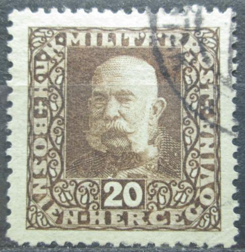 Poštovní známka Bosna a Hercegovina 1916 Císaø František Josef I. Mi# 105 A