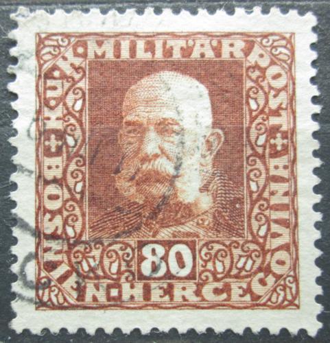 Poštovní známka Bosna a Hercegovina 1916 Císaø František Josef I. Mi# 111 A
