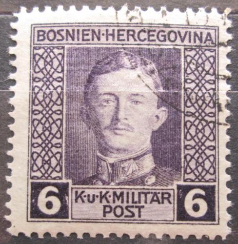 Poštovní známka Bosna a Hercegovina 1917 Císaø Karel I. Mi# 126 A