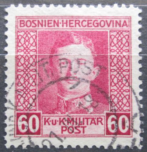 Poštovní známka Bosna a Hercegovina 1917 Císaø Karel I. Mi# 135 A