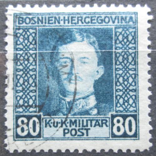 Poštovní známka Bosna a Hercegovina 1917 Císaø Karel I. Mi# 136 A