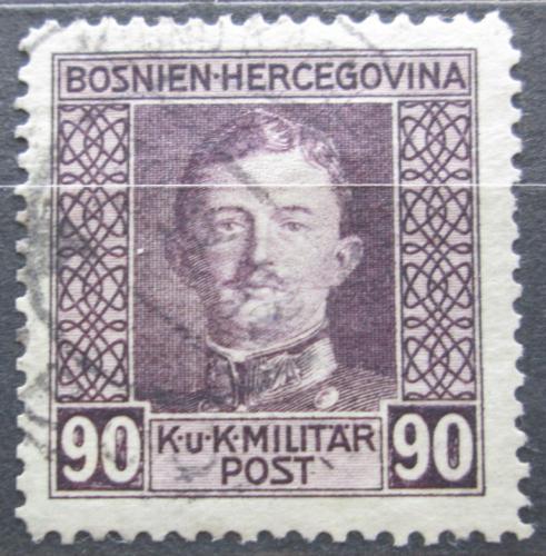 Poštovní známka Bosna a Hercegovina 1917 Císaø Karel I. Mi# 137 A