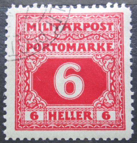 Poštovní známka Bosna a Hercegovina 1918 Doplatní Mi# 17