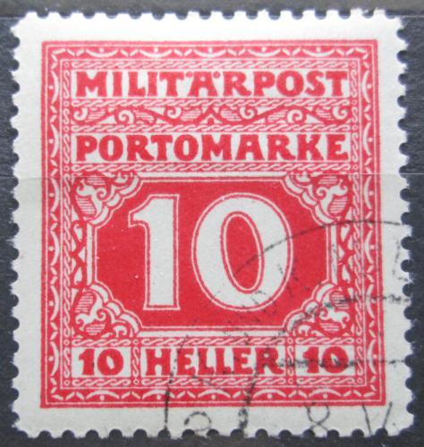 Poštovní známka Bosna a Hercegovina 1916 Doplatní Mi# 18