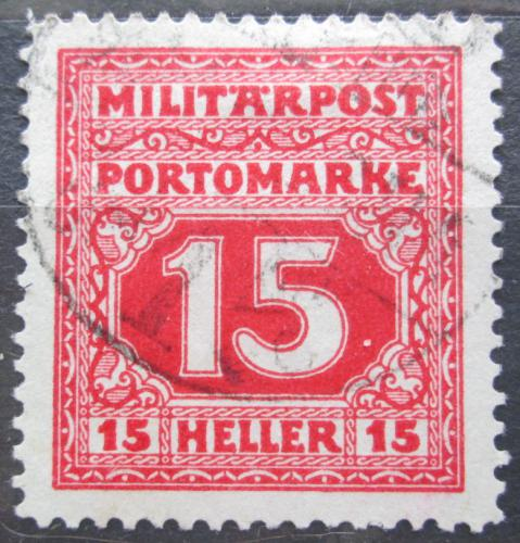 Poštovní známka Bosna a Hercegovina 1916 Doplatní Mi# 19 Kat 12€