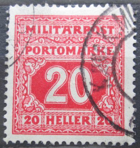 Poštovní známka Bosna a Hercegovina 1916 Doplatní Mi# 20