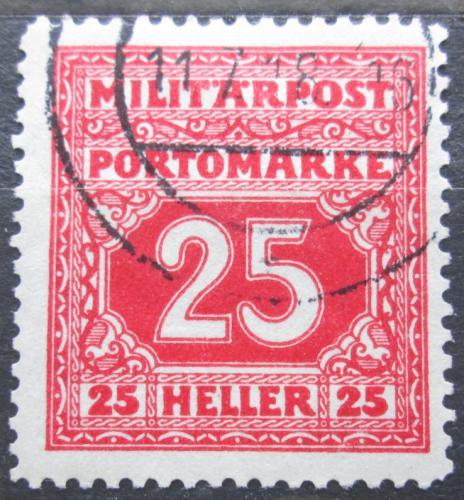 Poštovní známka Bosna a Hercegovina 1916 Doplatní Mi# 21