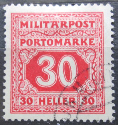 Poštovní známka Bosna a Hercegovina 1916 Doplatní Mi# 22