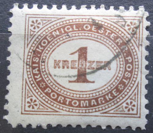 Poštovní známka Rakousko 1894 Doplatní Mi# 1