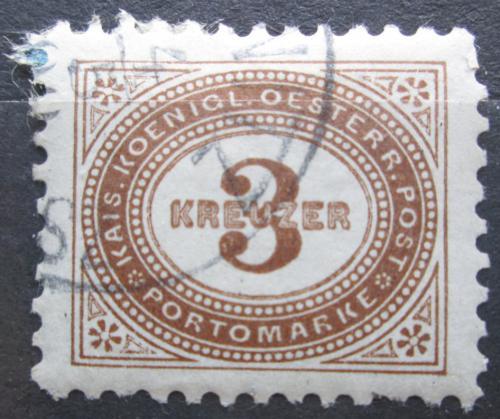 Poštovní známka Rakousko 1894 Doplatní Mi# 3
