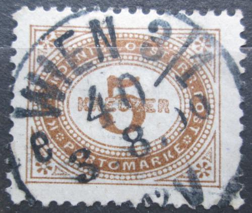 Poštovní známka Rakousko 1894 Doplatní Mi# 4