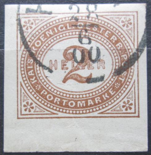 Poštovní známka Rakousko 1899 Doplatní Mi# 11