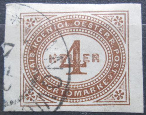 Poštovní známka Rakousko 1899 Doplatní Mi# 13