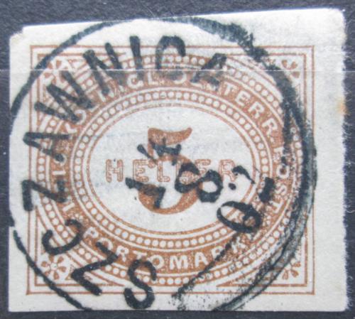 Poštovní známka Rakousko 1900 Doplatní Mi# 14