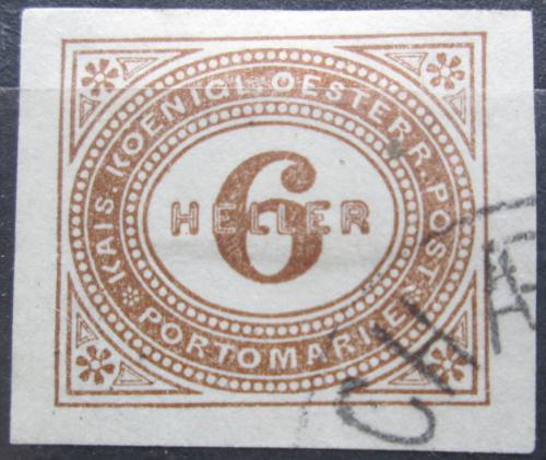 Poštovní známka Rakousko 1899 Doplatní Mi# 15