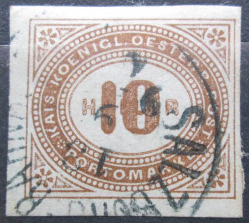 Poštovní známka Rakousko 1899 Doplatní Mi# 16